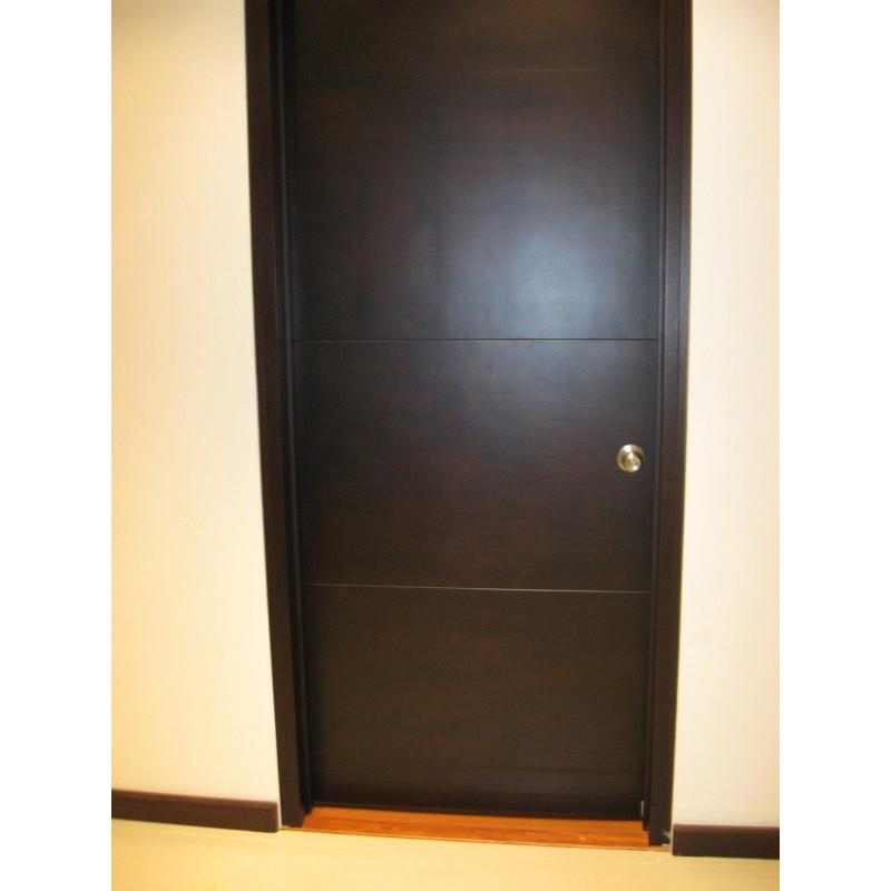 Puerta entamborada 1 dimalca for Puertas de madera en concepcion