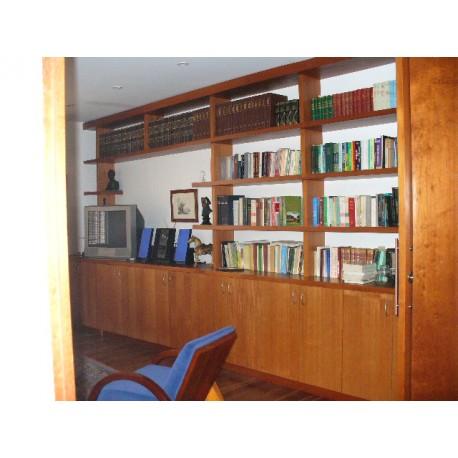 Biblioteca de madera 3 dimalca - Bibliotecas de madera ...