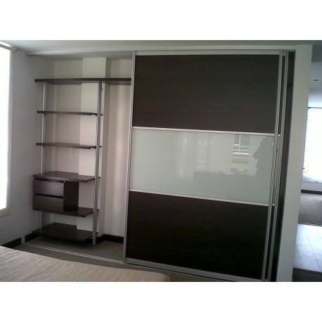 Closet Aluminio Vidrio Melaminico Dimalca